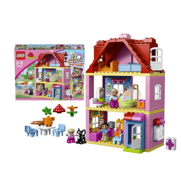 Конструктор lego duplo town кукольный домик