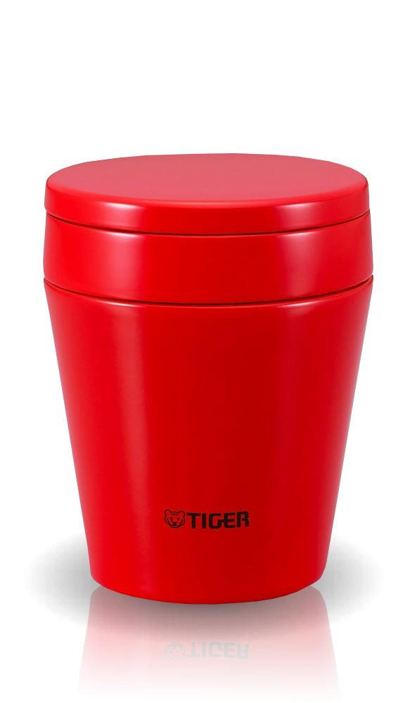 Термос для еды Tiger MCC-A (0,38 литра), красный