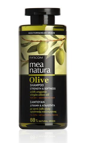 Шампунь для сухих и поврежденных волос Mea Natura 300 мл.