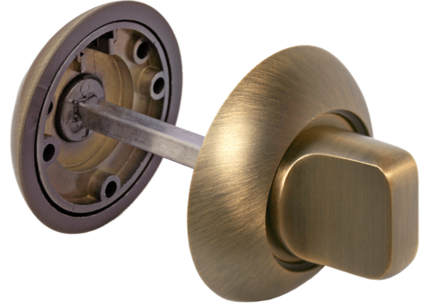 Фурнитура - Завёртка  Morelli MH-WC COF, цвет кофе ЦАМ - (сплав, содержащий цинк, алюминий и медь) + многослойное гальваническое покрытие