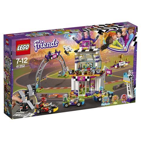 LEGO Friends: Большая гонка 41352 — The Big Race Day — Лего Френдз Друзья Подружки