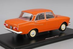 Moskvich-412 red 1:24 Legendary Soviet cars Hachette #21