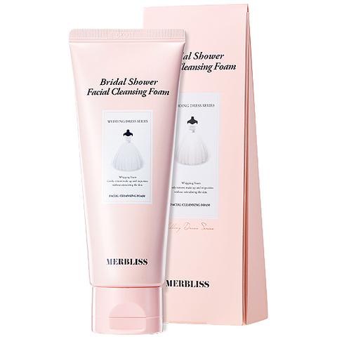 [BIG SALE] Очищающая пенка MERBLISS Bridal Shower Facial Cleansing Foam 100ml