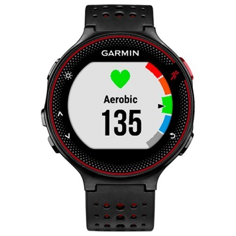 Купить Спортивные смарт часы Garmin Forerunner 235 010-03717-71 (черно красные) по доступной цене