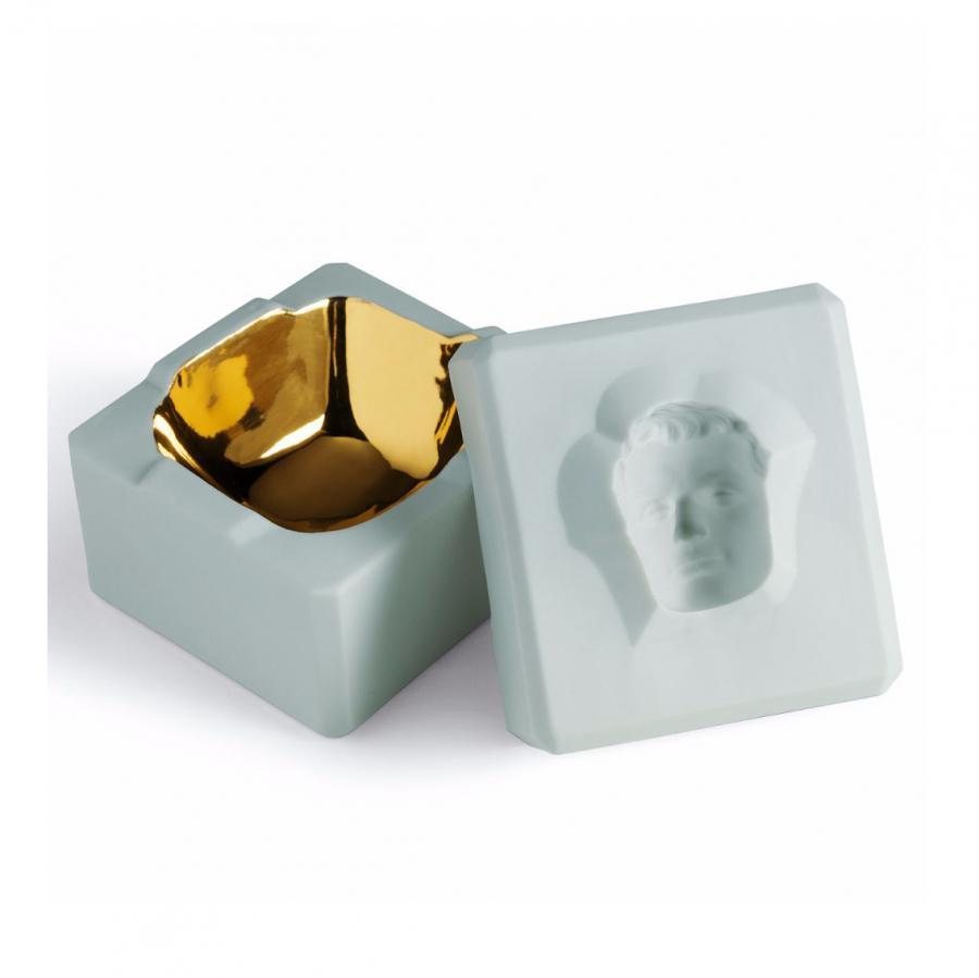 Lladro 1007246 — Шкатулка INSIDE OUT BOX   MAN TURQUOISE