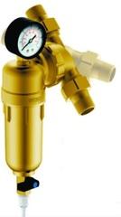 Фильтр Гейзер Бастион 7508095201 с манометром для холодной и горячей воды 3/4