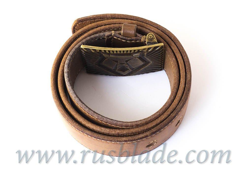 "CUSTOM Belt ""Luchisty Palych"" Shiro limited"