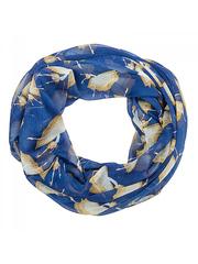 R2373-B17 палантин-труба, синий