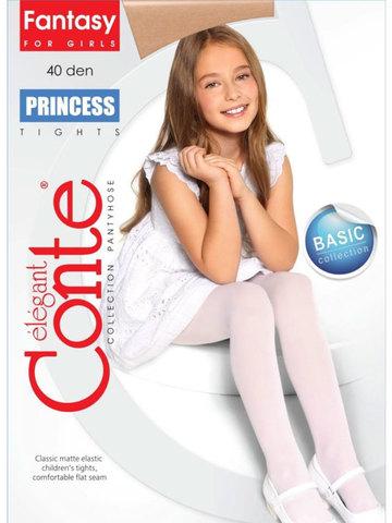 Колготки для девочек Princess 40 Conte