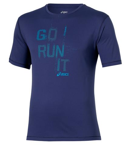 Asics Short Sleeve Tee Мужская футболка синяя