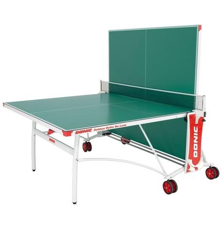 Всепогодный Теннисный стол Donic Outdoor Roller De Luxe зеленый
