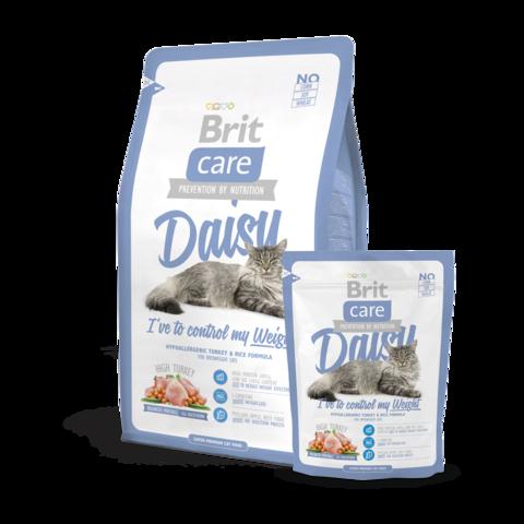 Brit Care Daisy Сухой корм для кошек склонных к излишнему весу