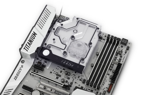 EK-FB MSI X370 XPower RGB Monoblock - Nickel