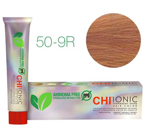 CHI Ionic 50-9R  (Светлый натуральный красный блондин) - стойкая краска для волос