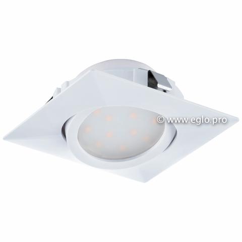 Светильник светодиодный встраиваемый регулируемый Eglo PINEDA 95841