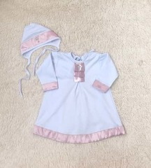 Крестильная рубашка для девочки Великолепие