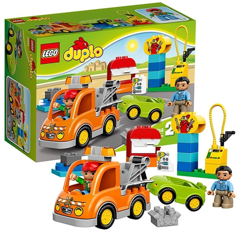 LEGO Duplo: Буксировщик 10814