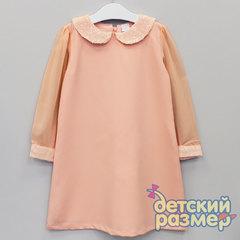 Платье (шифоновые рукава и пайетки)