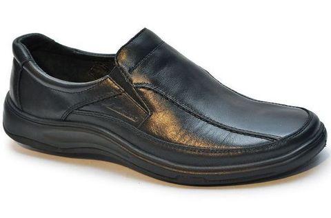 Полуботинки мужские Марко 4735 цвет черный