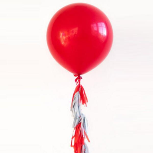 Свадьба Большой красный шар 90см 2116.png