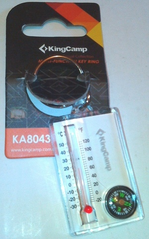 брелок Kingcamp Thermometer Compass