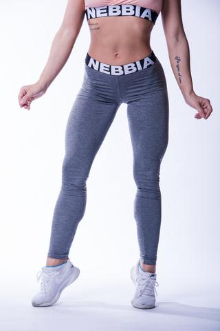 Женские леггинсы Nebbia 222 dark grey