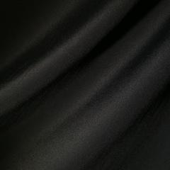 Вискозно-шелковый легкий крепдешин черного цвета
