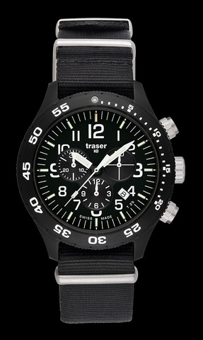 Купить Наручные часы Traser OFFICER CHRONOGRAPH PRO 102355 (нато) по доступной цене
