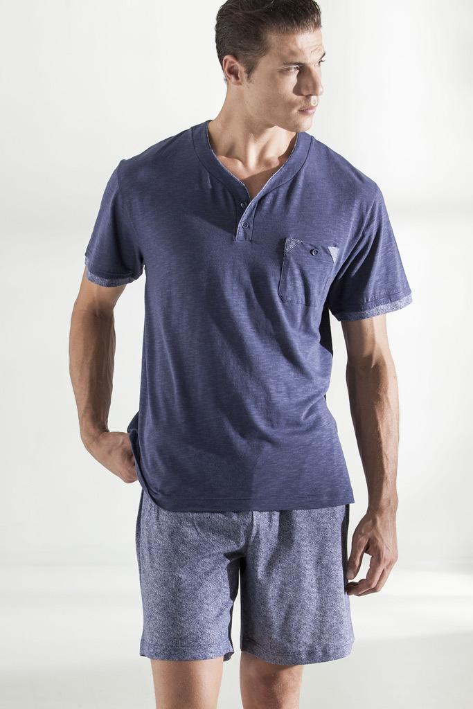Мужская пижама джинсового цвета Forniture Militari (Домашние костюмы и пижамы)