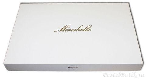 Постельное белье 2 спальное евро Mirabello At Home светло-серое