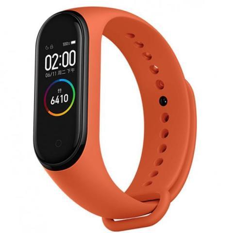 Фитнес браслет Xiaomi Mi Band 4, Оранжевый (Heat orange)