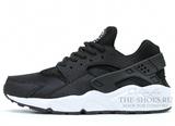 Кроссовки Женские Nike Air Huarache ES Black White