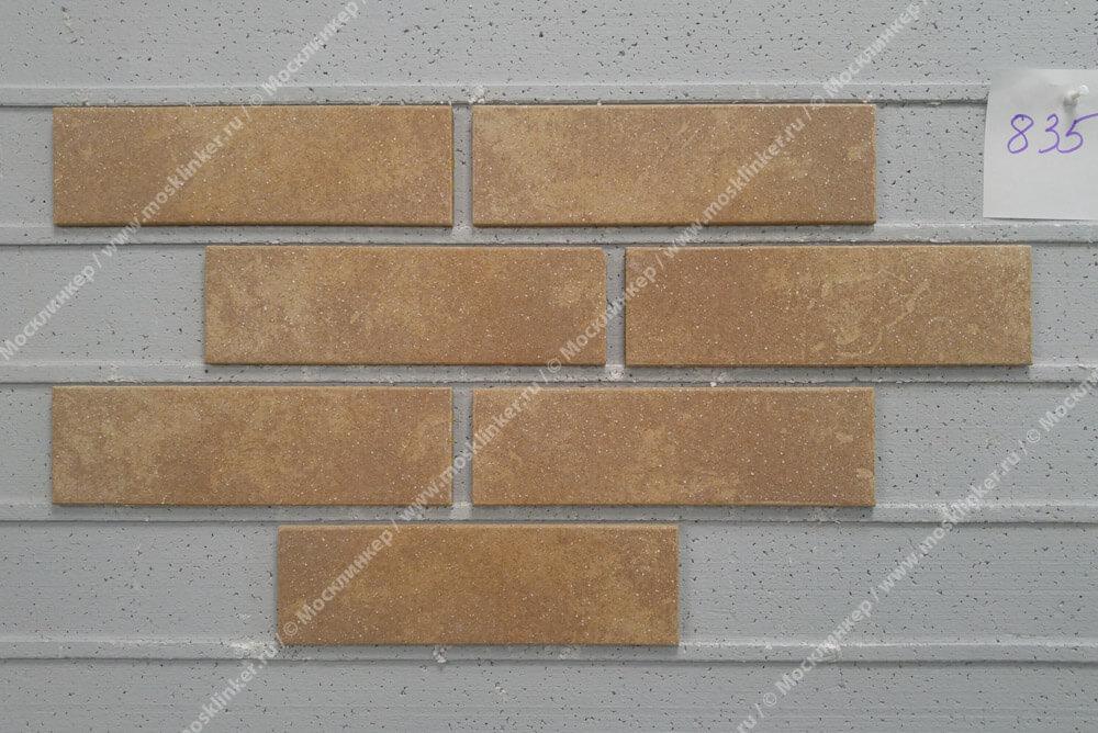 Stroeher - 835 sandos , Keravette shine, glasiert, глазурованная, гладкая, 240x71x8 - Клинкерная плитка для фасада и внутренней отделки