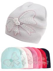 F76-19 шапка детская, цветная (флис)