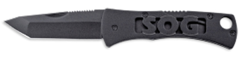 Купить Складной нож SOG Мод. MICRON II TANTO BLACK 97076 по доступной цене