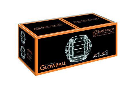Набор из 2-х подсвечников артикул 90027. Серия Glowball