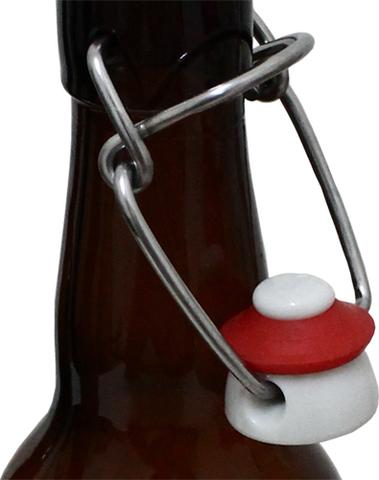 Бутылки с бугельной пробкой 0,75 л, 12 шт