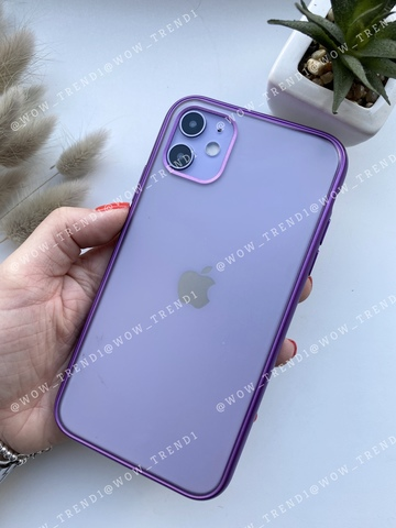 Чехол iPhone 11 Pro Max Shining Matte Case /purple/