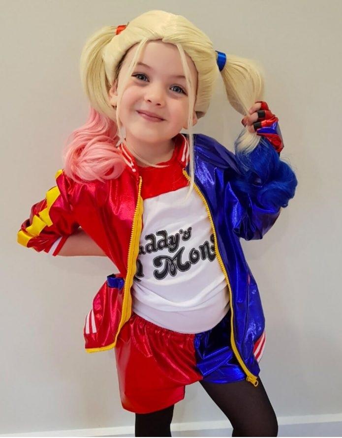 Отряд самоубийц детский костюм Харли Квинн
