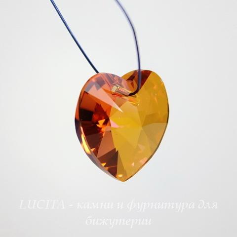 6228 Подвеска Сваровски Сердечко Crystal Astral Pink (10,3х10 мм)