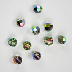 5000 Бусина - шарик с огранкой Сваровски Crystal Vitrail Medium 6 мм