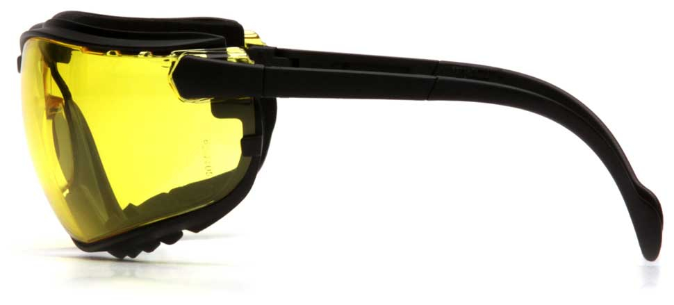 Очки баллистические тактические Pyramex V2G GB1830ST Anti-fog Diopter желтые 89%
