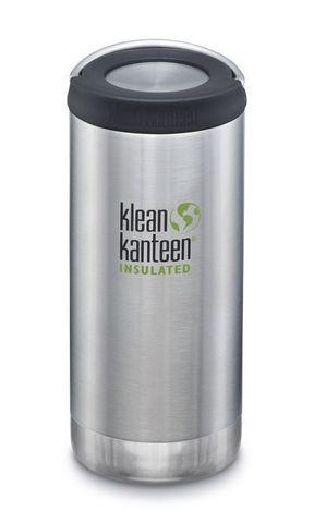 Термобутылка Klean Kanteen TKWide Loop Cap 12oz (355 мл) Brushed Stainless