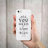 Чехол для iPhone 7+/7/6s+/6s/6+/6/5/5s/5с/4/4s ALL you need is LOVE and WIFI