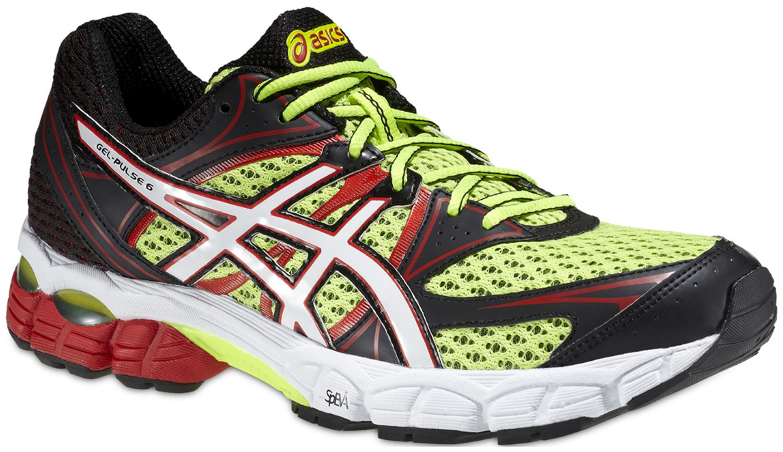 Мужские беговые кроссовки Asics Gel-Pulse 6 (T4A3N 0401) желтые