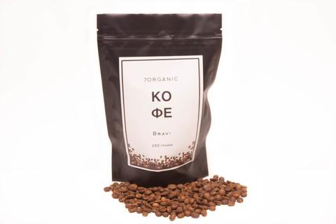 Кофе в зернах Bravia