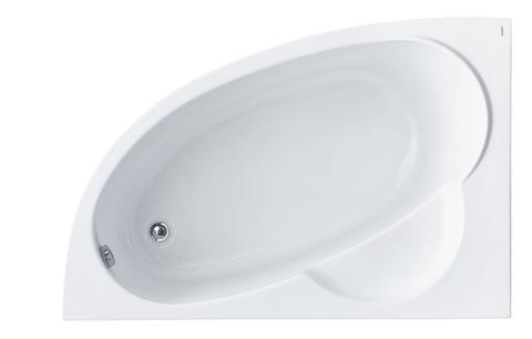 Акриловая ванна Santek Шри-Ланка 150х100 L асимметричная белая 1WH302394