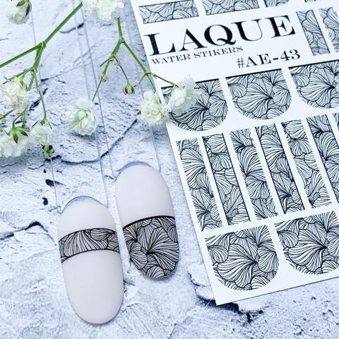 LAQUE Слайдер дизайн #АЕ-43 черный