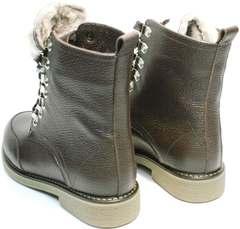 Ботинки зимние женские натуральная кожа Studio27 576c Broun.