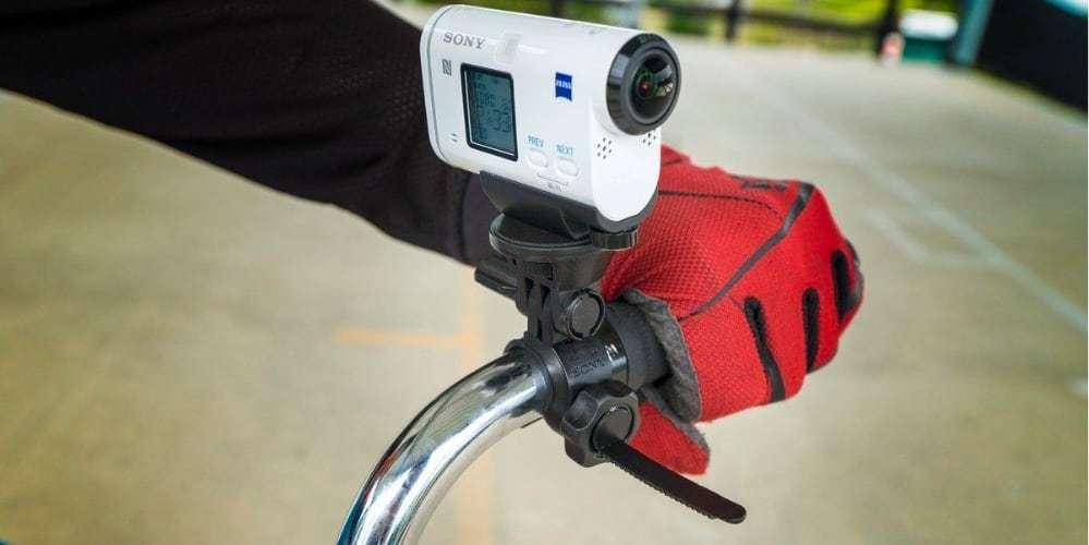 Крепление на руль или раму Sony VCT-HM2 на велосипеде